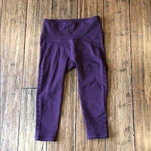 Dark Purple Lululemon Leggings